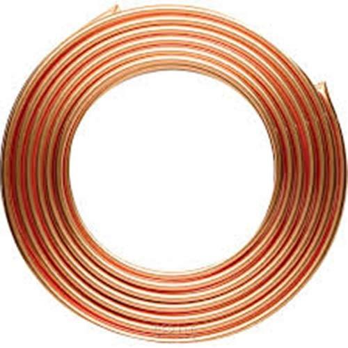 Tubi di rame, diametro esterno di 8 mm x diametro interno 6 mm x tubo di refrigerazione 6,56 piedi, tubo di rame a spirale morbida per condizionatore d'aria (C1100 T2)