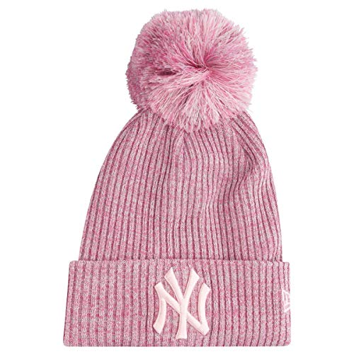 A NEW ERA Gorro con pompón York Yankees Engineered Fit Rosa -...