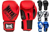 METAL BOXE - Competition boxing gloves, Classic edition - MB221, 16oz, Noir mat