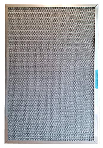 5-Stage CERTIFIED MERV RATED Electrostatic Washable Permanent Furnace A/C Air Filter – The highest MERV rating of any lifetime filter - Traps particles including MOLD POLLEN SMOKE PET DANDER (20x25x1)