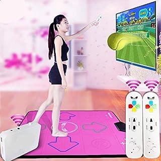 496de9c8e30d QMKJ Dance Mat pc TV para niños Alfombra de Baile Individual HD inalámbrico Adelgazante  máquina de