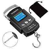 Kinstecks 110lb/50kg Fish Scales Backlit LCD Portable Electronic Balance Digital Fishing Scale Hanging