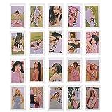 CAR-TOBBY 20 Stück/Set Red Velvet Selbstgemachte Fotokarten Collective Cards