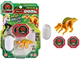Dino Mecard Tinysour OURANO Tiny Dinosaur Toy Yellow Color Ouranosaurus Figure Egg Capsule Storage Shooting from Any Capture Car (Single Product)