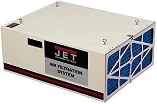 JET 708620B AFS-1000B 550/702/1044 CFM 3-Speed Air Filtration System with Remote and Electrostatic Pre-Filter