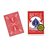 MMS Bicycle Playing Cards (Gold Standard) - RED BACK by Richard Turner - Trick by M & M's