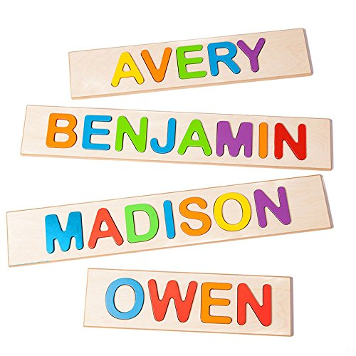 Fat Brain Toys Wooden Personalized Name...