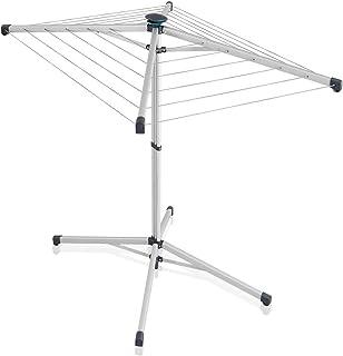 Leifheit Séchoir parapluie sur pied LinoPop-Up 140, étendoir à linge pratique, compact & léger, sèche linge avec longueur ...