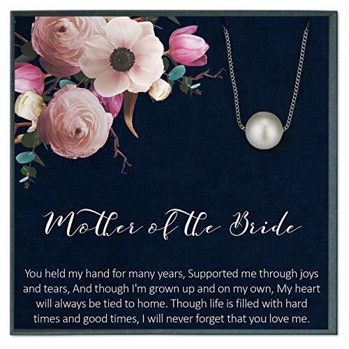 Collar para madre de la novia de hija madre de la novia, regalo de boda para mamá de novia