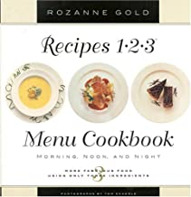 Recipes 1-2-3 Menu Cookbook: Morning, Noon, and Night : More Fabulous Food Using Only 3 Ingredients