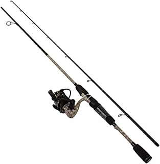 Lews Fishing, American Hero Camo Speed Spin Spinning Combo, 6.2:1 Gear Ratio, 31