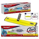 Pannopell Zero – Kit limpiador higienizante para suelos, 1 herramienta universal + 12 paños desechables, recarga – 500 g