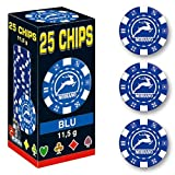 Modiano- Set 25 chips-11,5 g Senza Valore, 306630