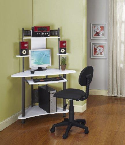 Children's Small Corner Computer Desk For Bedroom