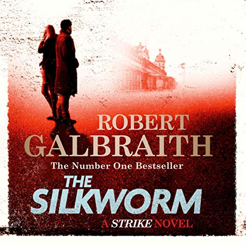 The Silkworm audiobook cover art