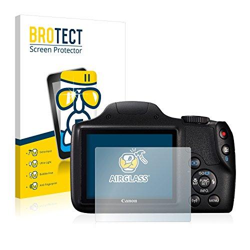 brotect Pellicola Protettiva Vetro Compatibile con Canon PowerShot SX540 HS Schermo Protezione, Estrema Durezza 9H, Anti-Impronte, AirGlass