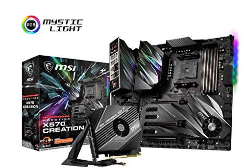 MSI PRISTIGE X570 CREATION (Socket AM4/X570/DDR4/S-ATA 600/ATX)