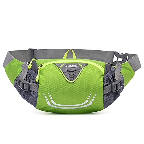 Ibssports Impermeable Multiuso Bolso Cintura Franja