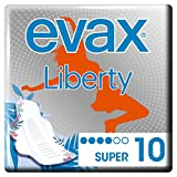 Evax Liberty Super Compresas Alas X 10