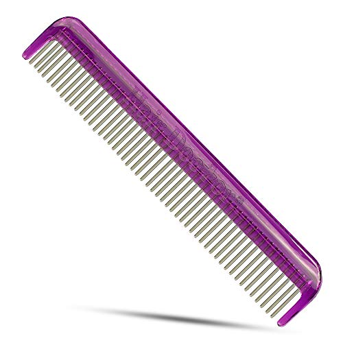 Hair Doctor Vanity Comb with silky smooth rotating teeth stops hair...