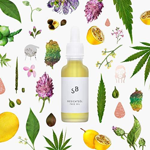 Studio Botanic Gesichtsöl – Regenerierende Gesichtspflege mit Bakuchiol – 30 ml Pipettenglasflasche – 100% Rein Natürlich – Zertifizierte Vegane Naturkosmetik