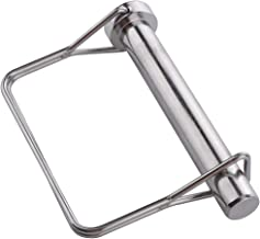 """Large Safety Coupler Pin 1/2"""" x 3.54""""(12.6mm x 90mm), Full Marine Grade 316 Stainless Steel Heavy Duty Shaft Locking Pin"""