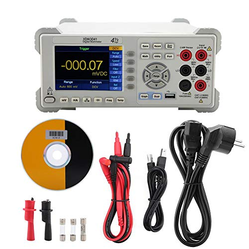 Digit Multimeter, Professional XDM3041 4 1/2 Digit Dual-Display USB/RS232/LAN Desktop-Multimeter(EU-Stecker)