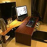 ZWJLIZI Tavolino da caffè, Seduta in Stile Giapponese Tavolino Basso (Colore in Teak), può Essere utilizzato Come Tavolo da Tavolo/Baia Tavolo/da Letto Tavolo/da Letto/Rack TV (Size : 100x40x40cm)