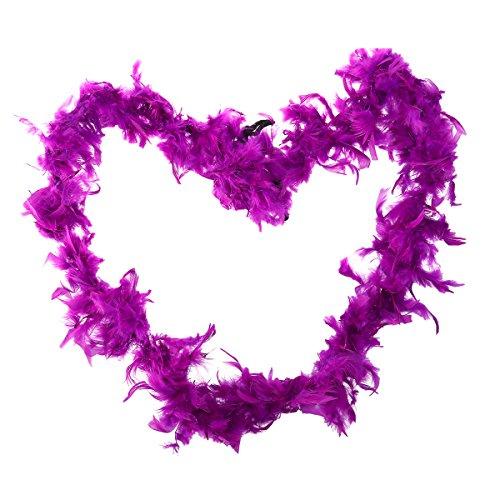 Tinksky Feather Boa, Flapper Disfraz Fancy Dress Vintage Flapper teatro accesorio decorative pluma...