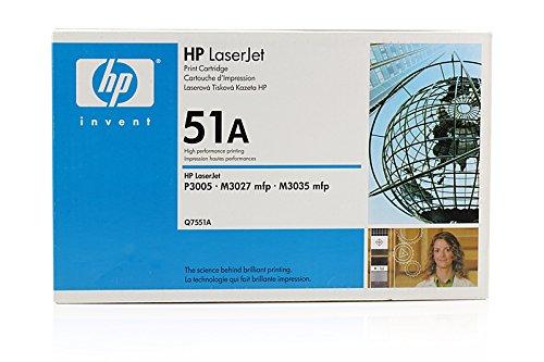 Original HP Q7551A / 51A Toner Black für HP LaserJet P 3005 N