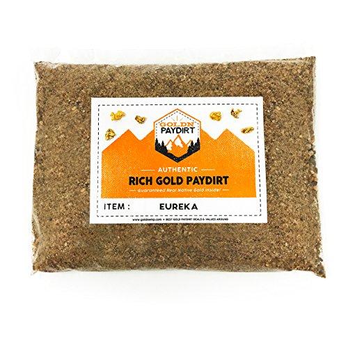 Goldn Gold Paydirt Eureka Panning Pay - Bolsa para Suciedad, Color Dorado