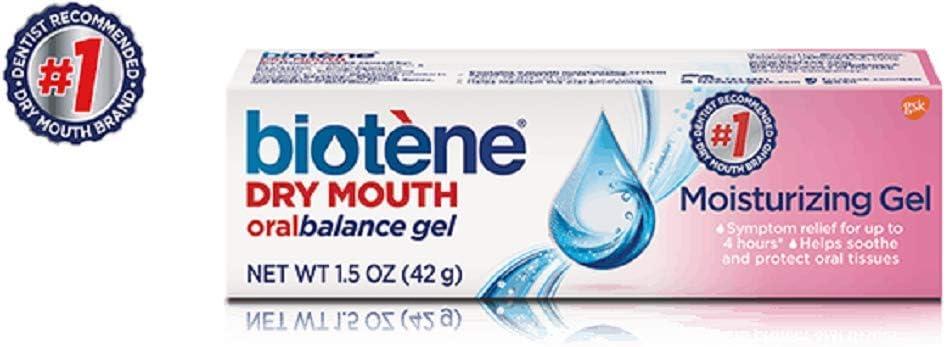 3 Pack Biotene Oral Balance Dry 1.5 Moisturizing Gel Bargain Mouth so oz Sales results No. 1