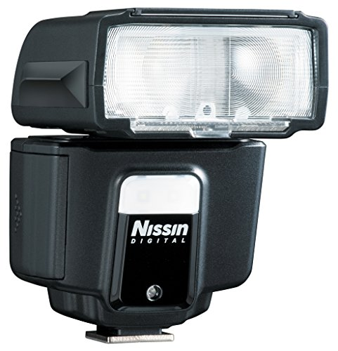 Nissin Digital i40 - Flash con zapata para Fujifilm, negro