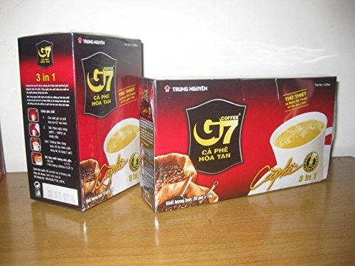 Trung Nguyen Instant Coffee G7 3 in 1 (20 x 16g) 20 Portionen