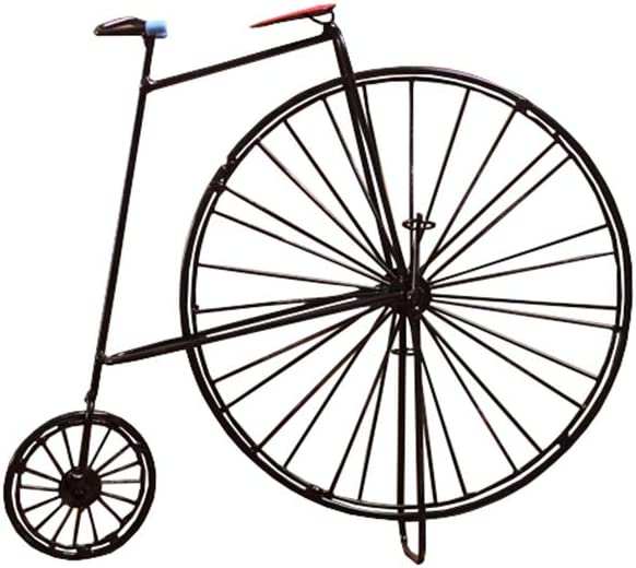Metal Sculpture Retro Classic Handmade Ranking TOP16 Easy-to-use Decora Home Iron Bicycle