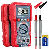 AstroAI Multimeter Tester, TRMS 2000 Counts Volt Meter Manual and Digital Auto Ranging; Measures Voltage, Current, Resistance, Capacitance, Frequency; Tests Live Wire, Diodes, Continuity