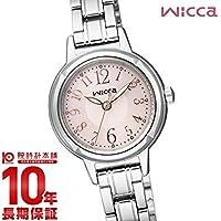 10年保証シチズン ウィッカ wicca ソーラーテック KH9-914-91 レディース