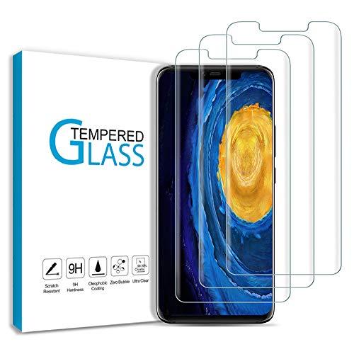 Carantee Panzerglas Schutzfolie für Huawei Mate 20 Pro, [3 Stück] 9H Härte HD-Klar Folie Schutzglas, 3D Volle Bedeckung Displayschutzfolie, Hüllefreundlich Anti-Kratzen/Öl/Bläschen Panzerglasfolie
