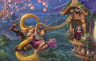 Thomas Kinkade - The Disney Collection - Tangled Puzzle - 750 Pieces