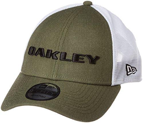 Oakley Herren Heather New Era Hat Cap, Dunkler Pinsel, Einheitsgröße