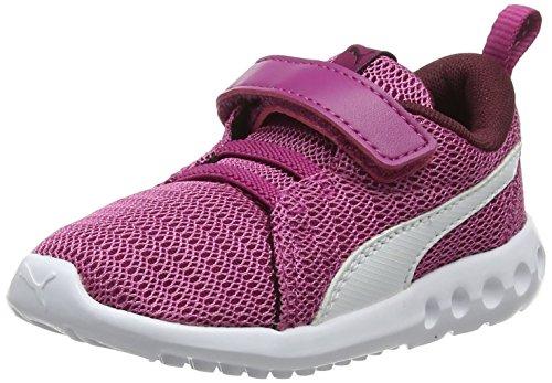 PUMA Unisex-Kinder Carson 2 V Inf Fitnessschuhe, Pink (Magenta Haze-Fig White 13), 20 EU