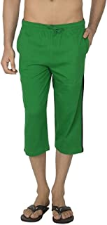 Romano Women Green Comfort Cotton Capri