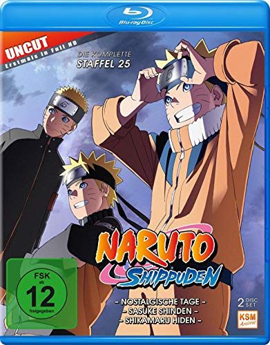 Naruto Shippuden - Staffel 25 (Folgen 700-713) [Blu-ray]