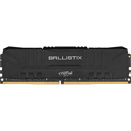 Crucial Ballistix 3200 MHz DDR4 DRAM Desktop Gaming Memory Kit 16GB (8GBx2) CL16 BL2K8G32C16U4B (Black)