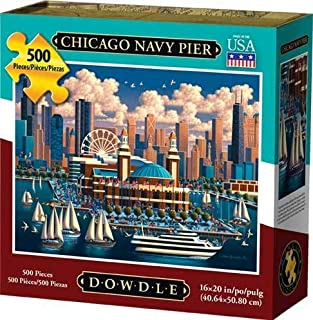 Dowdle Jigsaw Puzzle - Chicago Navy Pier - 500 Piece