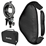 Godox SFUV6060 Portable Assembly Collapsible Diffuser Soft Box Kit with S-Type Bowens Flash Bracket...