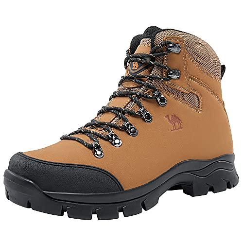 CAMEL CROWN Chaussures de Randonnée Homme Maintien Confort Respirant, Trekking...