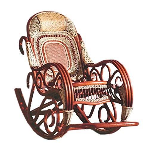 Natürlichen Bambus - Rattan Wicker schwingstuhl/schaukelstühle/schwingsessel/gartenliege/gartensessel/sonnenliege/liegestuhl/strandstuhl/relaxliege/Lounge Sessel/Longue/relaxstuhl/relaxsessel/Sitz