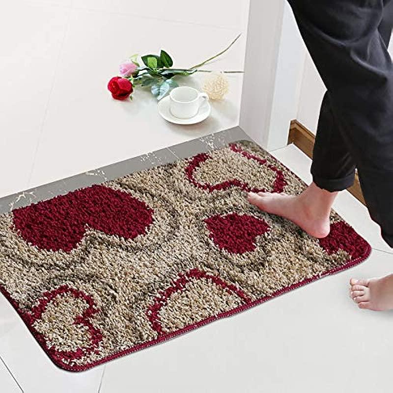 LIUCS Carpet Mat Machine Textile Cleaning Anti Slip Anti Static Corridor Aisle Corridor Home Decoration Carpet 40cmx60cm