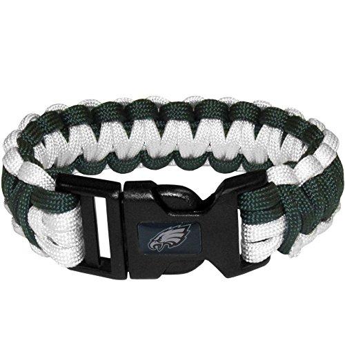 NFL Siskiyou Sports Fan Shop Philadelphia Eagles Survivor Bracelet One Size Team Color